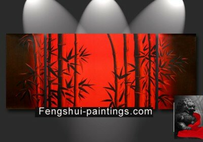 Chinese Bamboo Painting