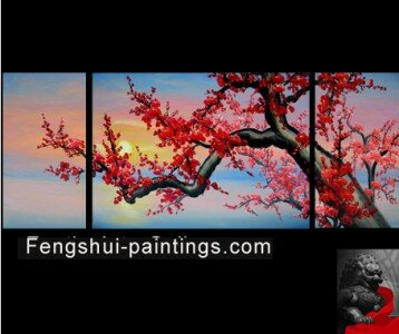 Japanese Cherry Blossom Painting