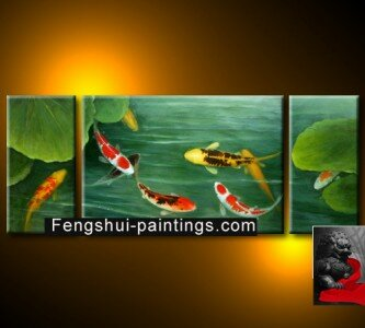 Feng Shui Fish Painting