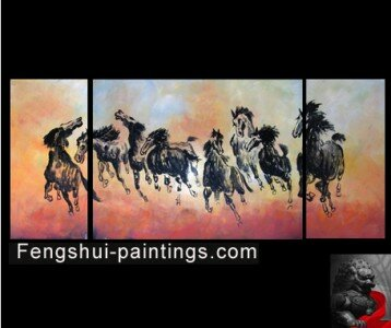 Chinese Feng Shui Artwork