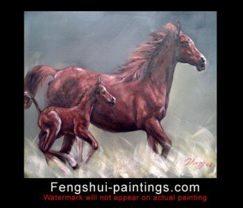 Painting Horses Painting