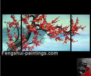 Cherry Blossom Flower Painting