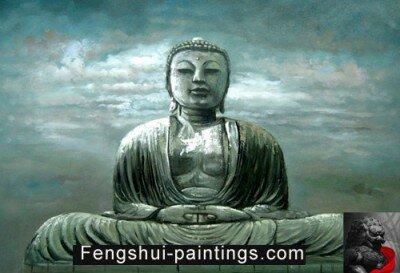 Feng Shui Buddha Painting