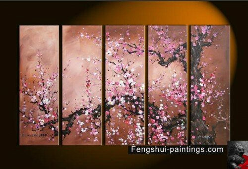 cherry blossom flower art. Cherry Blossom Flower Painting